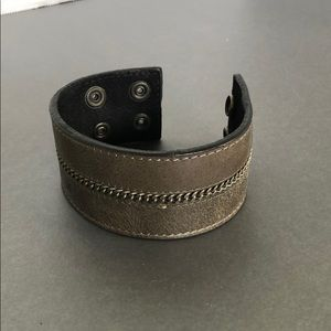 Guess leather cuff